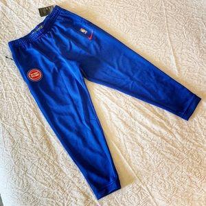 Nike Detroit Pistons Warm Up Pants 932726-495 XL